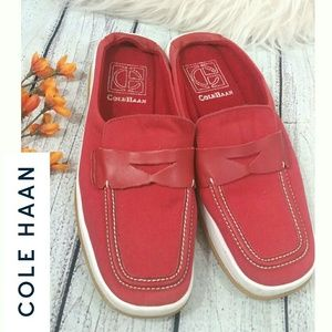 Cavas Slip On Loafers Womens Red shoes  COLE HAAN